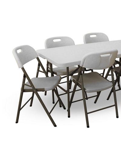 Klappmöbel (Stühle und Tische)